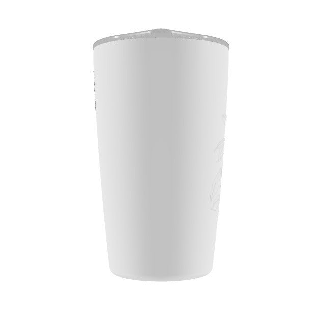 *Jacob Cao-12oz Tumbler (White)*