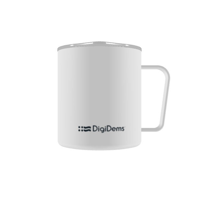 DigiDems white camp cup