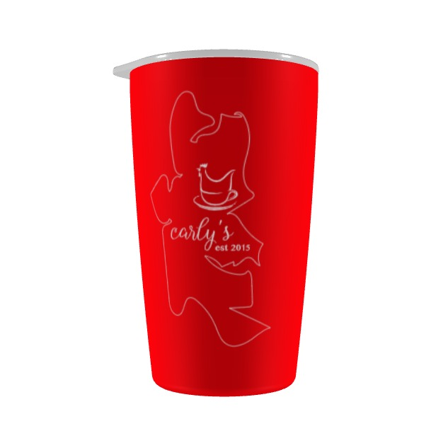 Carly's 5th Anniversary 12oz Tumbler - Cascara