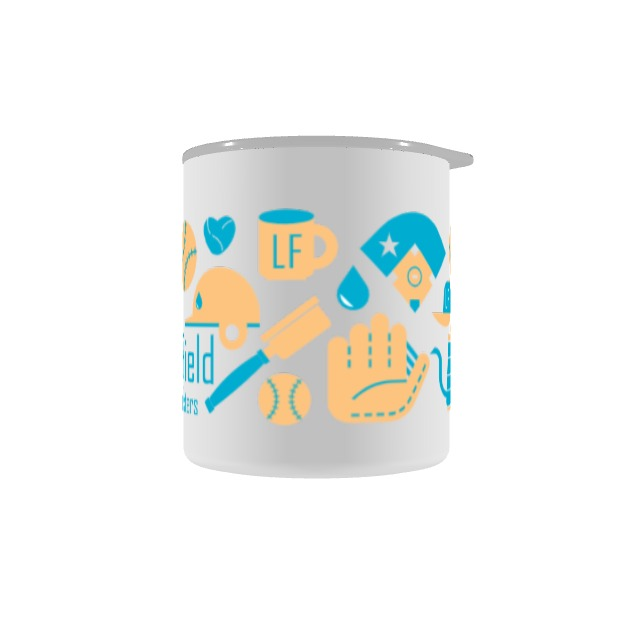 Left Field Coffee camp cup