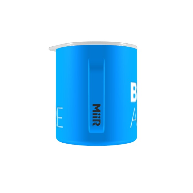 Blue Camp Cup w/ 2-Line Logo