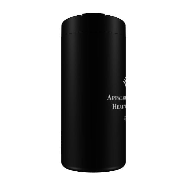 ARHS 12 oz travel tumbler Black laser etched