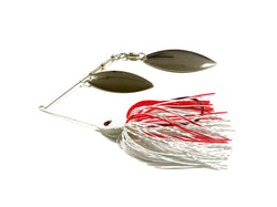 Bleeding Bait Spinnerbait Double Willow/Nickle