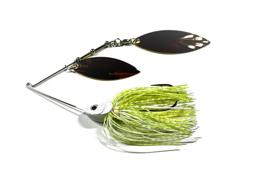 White/Chartreuse W/ Gold Willow/Willow 1oz