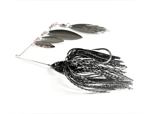Black Super Quad Spinner Bait