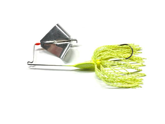 Chartreuse Buzz Bait, Metal Blade