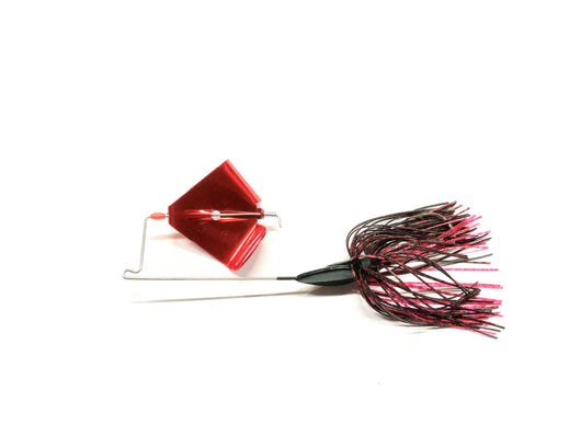Black/Red Buzz Bait, Flo-Blade