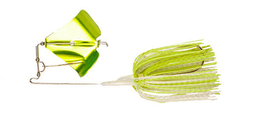 White/ Chartreuse Clacker