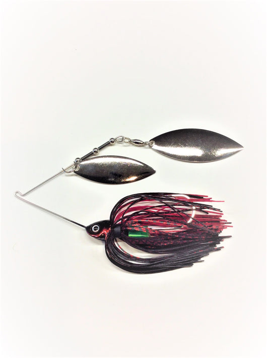 Black/ Red E-Chip W/ Silver Willow/Willow
