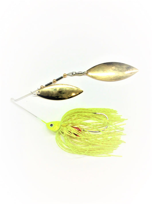 Chartreuse E-Chip W/ Gold Willow/Willow
