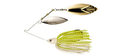 White/Chartreuse W/ Gold/Silver Willow/Willow