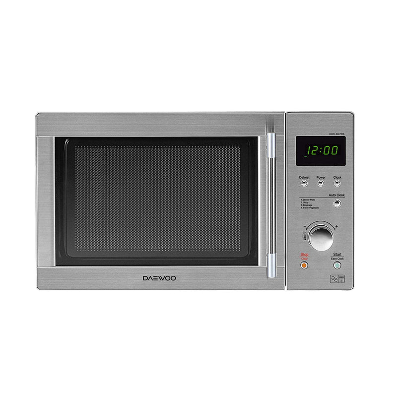 Daewoo KOR6N7RSR Touch Control Microwave Oven, 800 W, 20 Litre, Silver