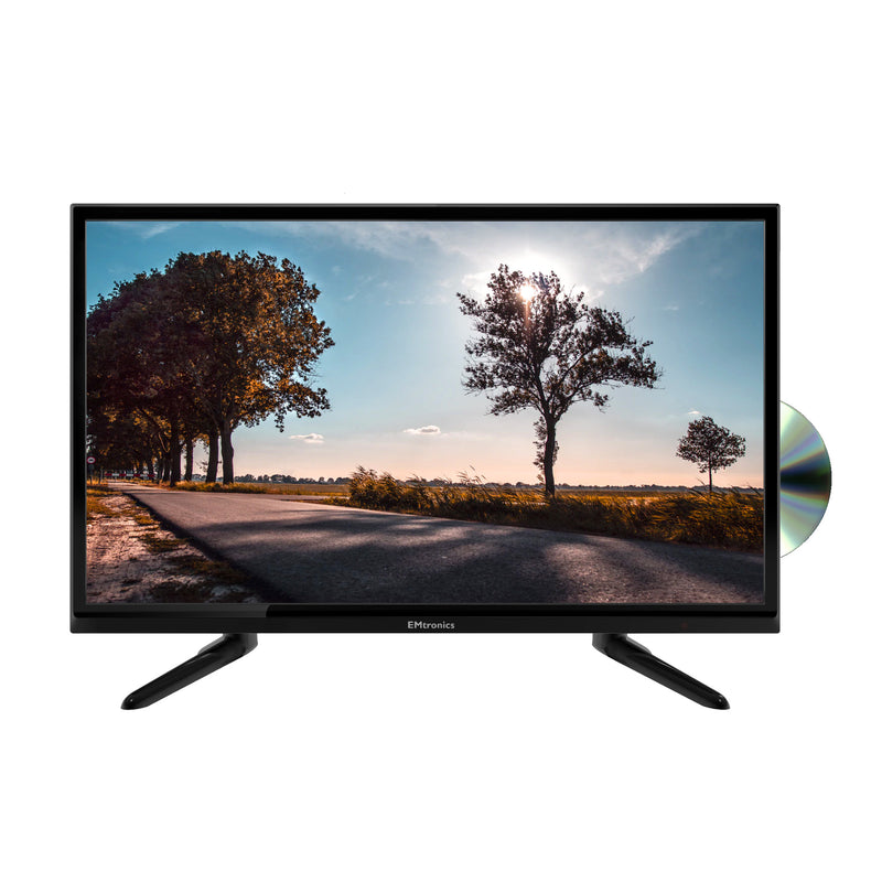 "EMtronics 24"" Inch LED 720p HD Ready TV Combi with Built-in DVD Player"