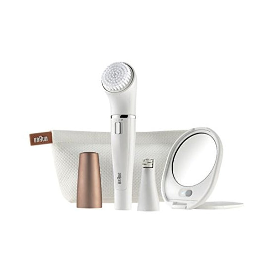 Braun Face 831 Womens Facial Hair Epilator & Cleansing Brush
