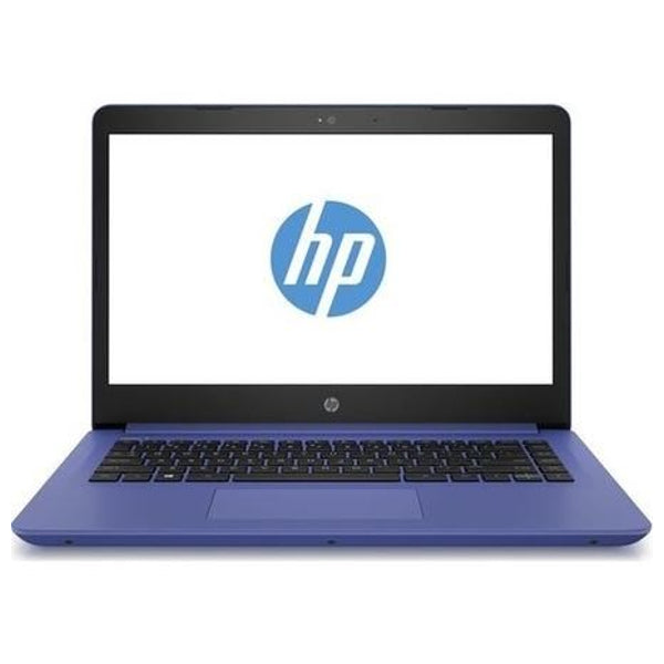 "HP 14-bp076sa Core i3-7100U 4GB RAM 128GB 14"" Inch Windows 10 Blue Laptop (Refurbished B)"