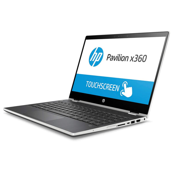 "HP 14-CD0522SA 14"" Inch x360 Silver Touch Laptop Intel i3-8130U 8GB / 128 SSD (Refurbished B)"
