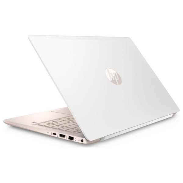 "HP Pavilion 14-ce0595sa White & Gold 14"" Intel Pentium Gold Laptop - 128 GB SSD (Refurbished B)"