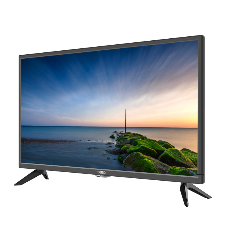 "Seizo 24"" Inch HD TV with Built-in DVD and Freeview, HDMI, USB, VGA"