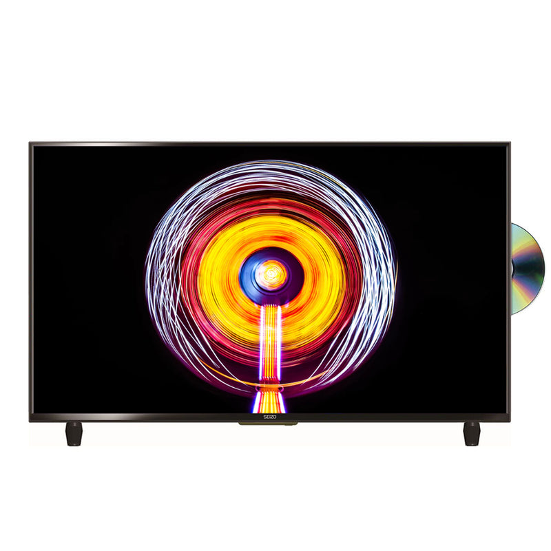 "Seizo 32"" HD Ready LED TV With Built-In DVD Player"