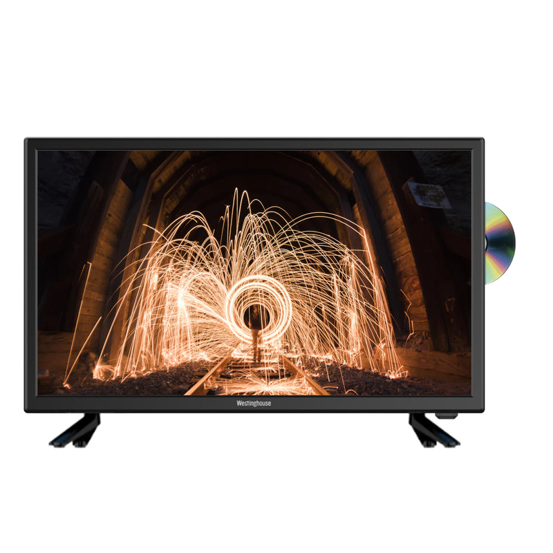 "Westinghouse 24"" HD Ready LED TV With Built-In DVD Player"