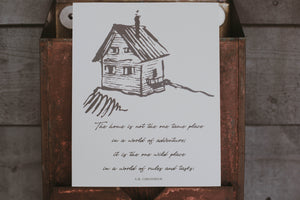 G.K. Chesterton Home Print - Back in Stock