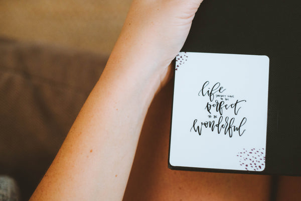 NEW!! Life Doesn't Have to be Perfect Sticker