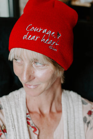 Courage Dear Heart Beanie