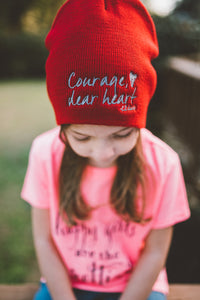 Courage Dear Heart Beanie - 50% off!