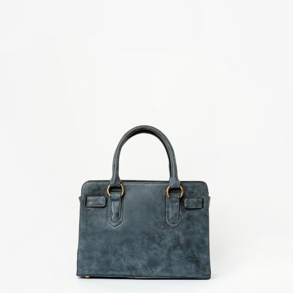 JOYN MAMTA GREY VEGAN HANDBAG - SOLD OUT