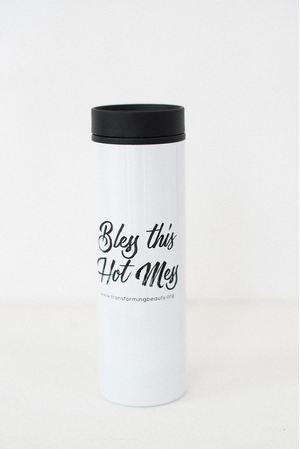 Bless this Hot Mess Travel Mug