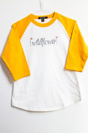 Kids Wildflower Baseball Tee
