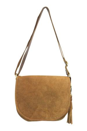 INDIA Joyn Suede Cross Satchel