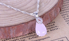 Gemstone Necklace - Lucky Day Rose Quartz Crystal Pendant - FREE SHIPPING