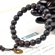 Prayer Bead Bracelet - Tibetan Prayer Bead Mala Wristlet- FREE SHIPPING
