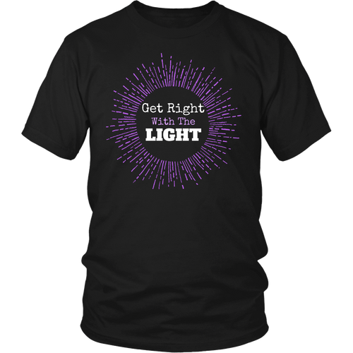 T-shirt - Get Right With The LIGHT T-Shirt