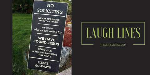 Funny yard signs