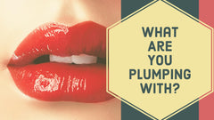 What is in lip plumping products