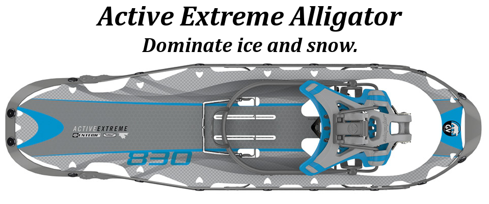 Active Extreme Alligator Aluminum Snowshoe For Women