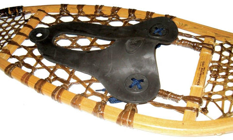 Rubber Bindings for Wood  Snowshoes