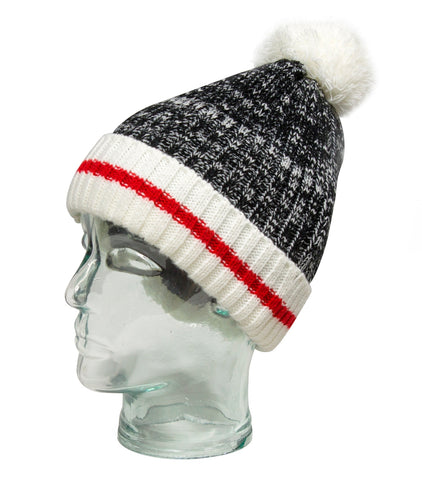 Misty Mountain Wooly Pom Toque