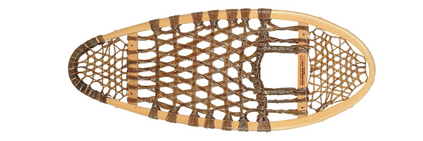Bear Paw Traditional Wood Snowshoe