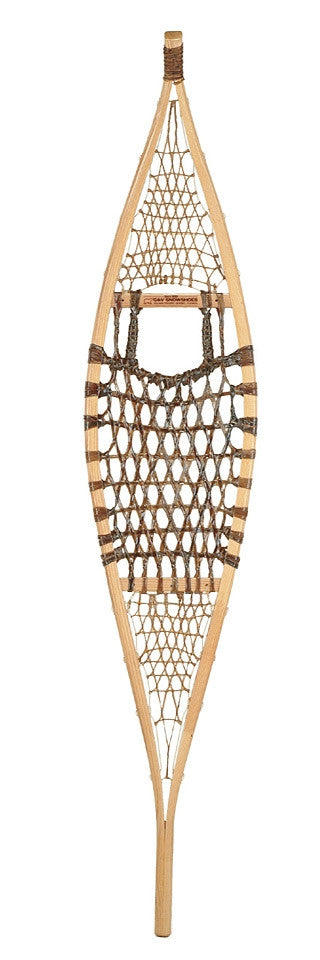 Ojibwe Traditional Wood Snowshoe