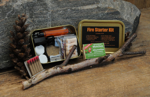 Survival Fire Starter Kit