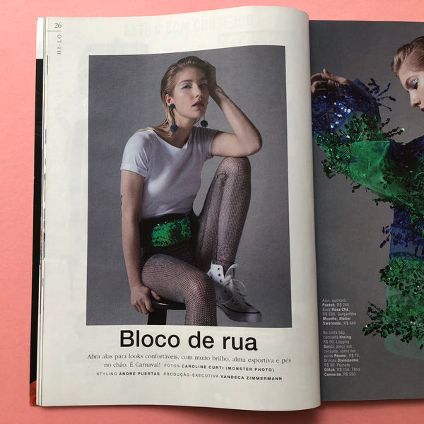 GLITCH ONLINE POCHETES CLIPPING MARIE CLAIRE