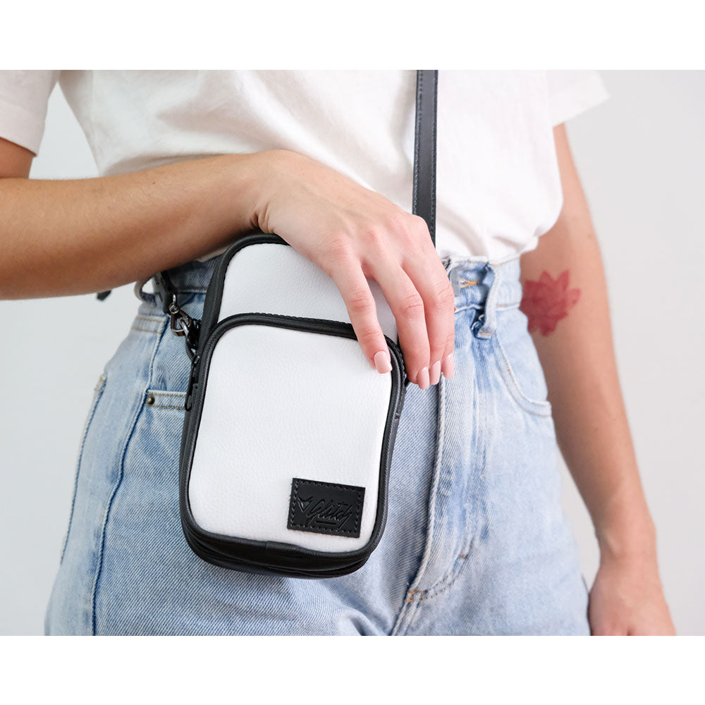 GLITCH ONLINE MINI BAG NINA PU BRANCO