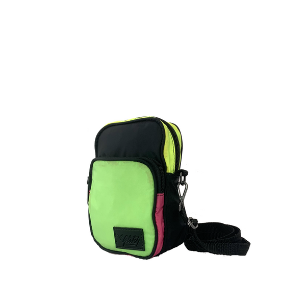 Mini Bag BLK LBL | Nylon Marinho e Verde