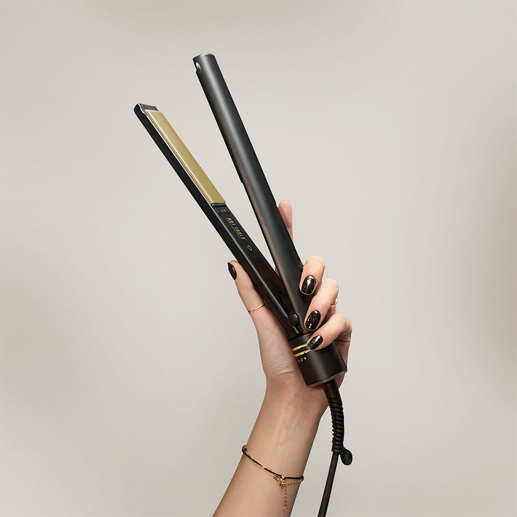 Hot Tools Gold Titanium Digital Flat Iron