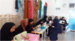 Sewing Machine and Class for Kaka'i Refugee Woman