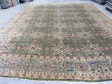 Green and Beige Rug