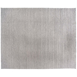 Gray and White Diamonds Rug
